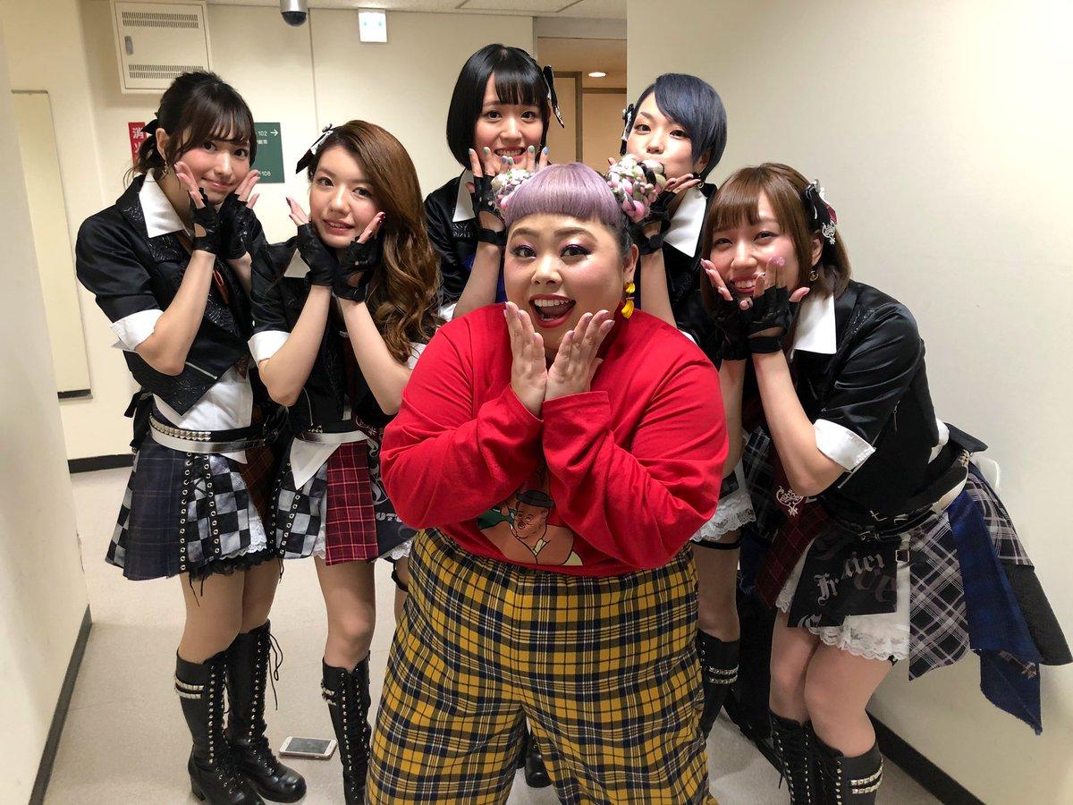 #シブヤノオトMCの渡辺直美さんとお写真撮らせて頂きました✨改めて、本日はありがとうございました🌷