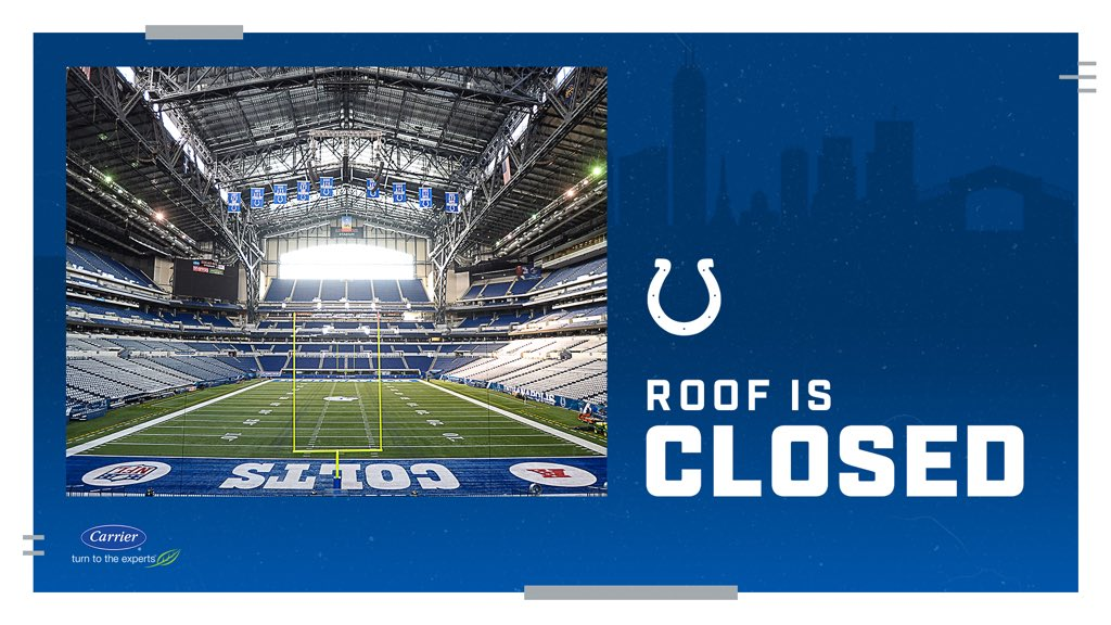 Roof/window closed tomorrow