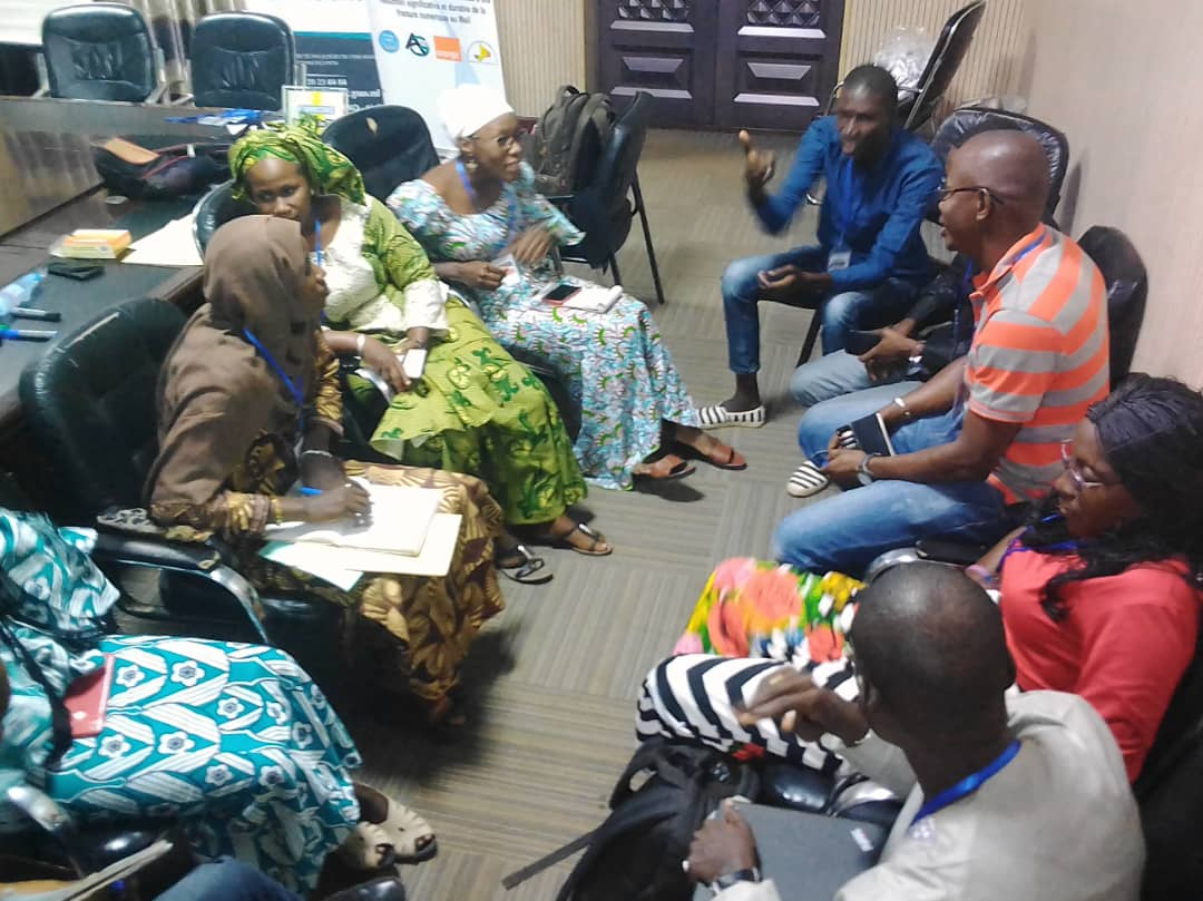 11ème_Assemblée_Générale_CACTIC.  Place aux focus groups sur la Recherche de Financement, Formation et Communication de la CATIC.@cactic_mali , Agir ensemble  pour construire durablement !@MaliMenp @agetic_officiel @Orange_Mali
