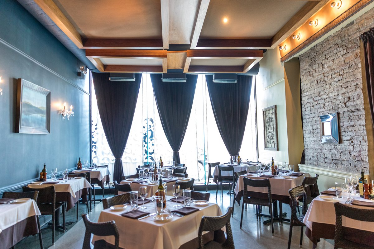 Elegant and intimate, claim your table for dinner tonight.