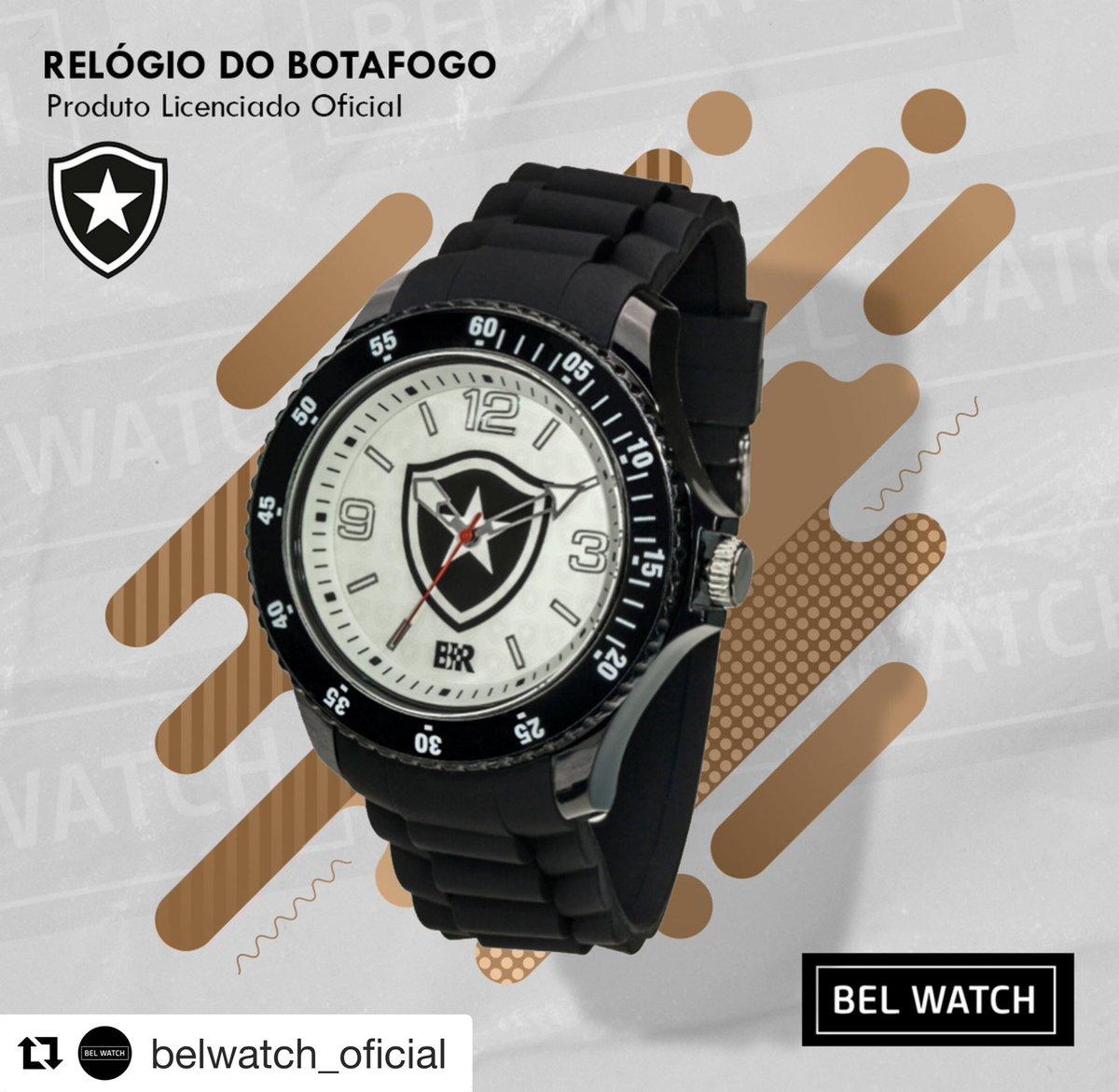 Irados!  #Repost belwatch_oficial  ・・・ Relógios oficiais exclusivos para os apaixonados pelo FOGÃO! @botafogo  ⠀  #relogios #watches #esporte #sportwear #modaesporte #acessorios #futebol #torcida #times #belwatch #exclusividade  http://www.belwatch.com.brpic.twitter.com/GlLj9RIB7q