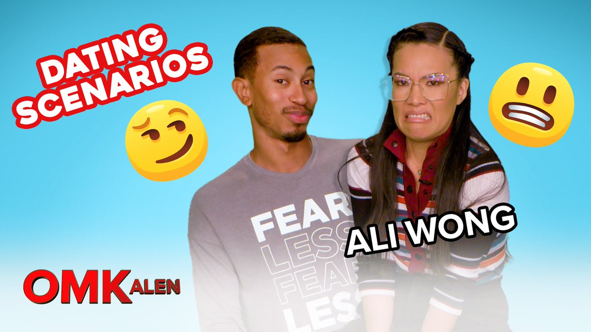 Nothing could be better than @TheKalenAllen  and @AliWong . #OMKalen