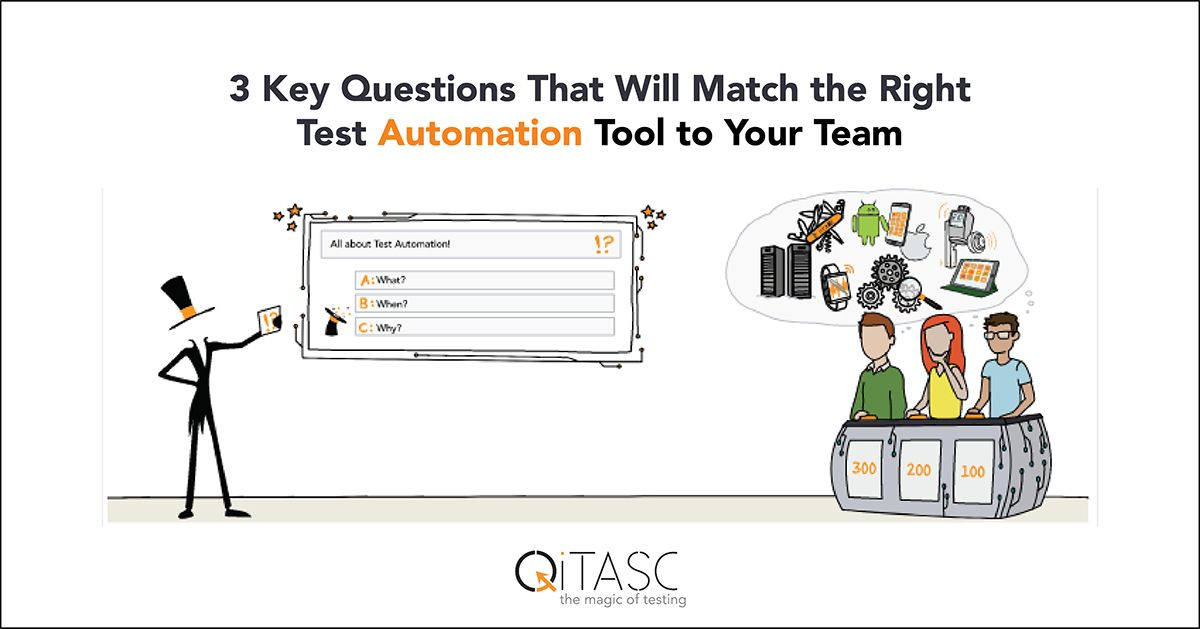 3 Key Questions That Will Match the Right Test Automation Tool to Your Team What Are the Different Language Layers? What Does Test Output Look Like? What Is Automated and What Isn't? #automatedtesting #softwaretesting via @qitasc  https:// buff.ly/2W6cXcE    <br>http://pic.twitter.com/3k4fRkIfdC