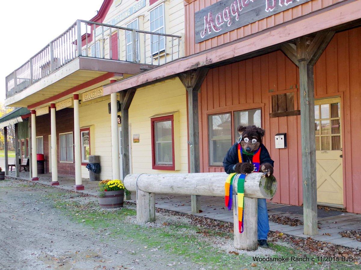 #FursuitFriday #Waldolf at the Western Town at #WoodsmokeRanch in Seneca Illinois @FursuitersWorld