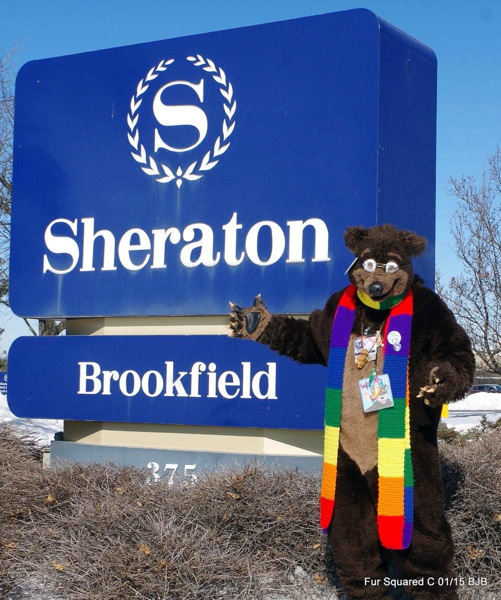 #fursuitfriday #Waldolf at the #Brookfield WI #Sheraton Hotel @FursuitersWorld  @FurSquared