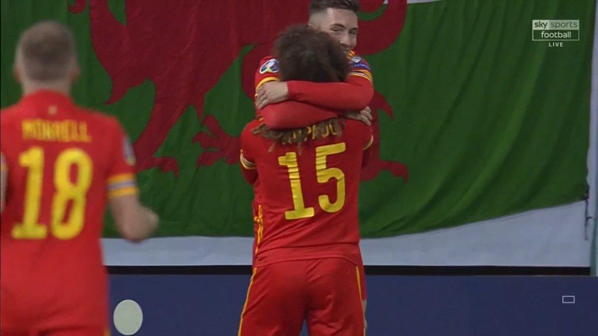 Harry Wilson scoring for Wales tonight 🔴 #LFC