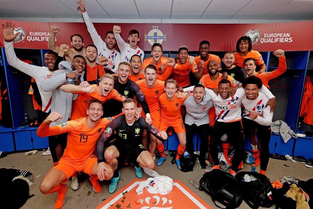 We are BACK! @UEFAEURO 🔥🇳🇱