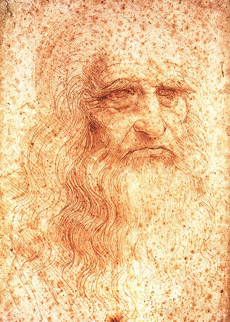 Another day goes by and I continue admiring Leonardo da Vinci.  This self-portrait was created in 1512 when he was 60, living in France. <br>http://pic.twitter.com/soo6SKc9Kr