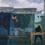 Image for the Tweet beginning: The Ivorian artist Joana Choumali