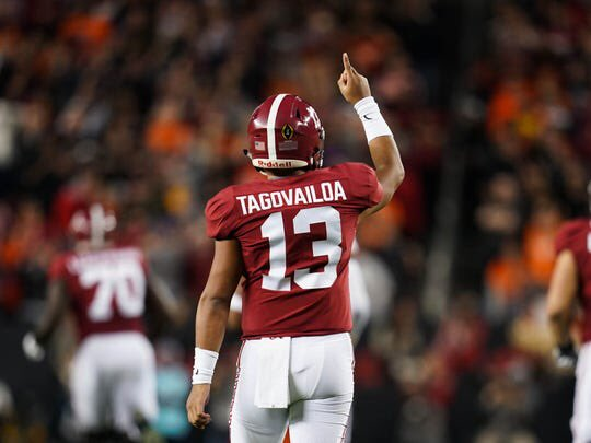 We do not know what happened with Tua. We don't know the injury. I am going to take this time to thank you, Tua, for all that you have done for the university. You have been a perfect representative of the football program and the University of Alabama. Prayers up for you, 13. 🙏🏻