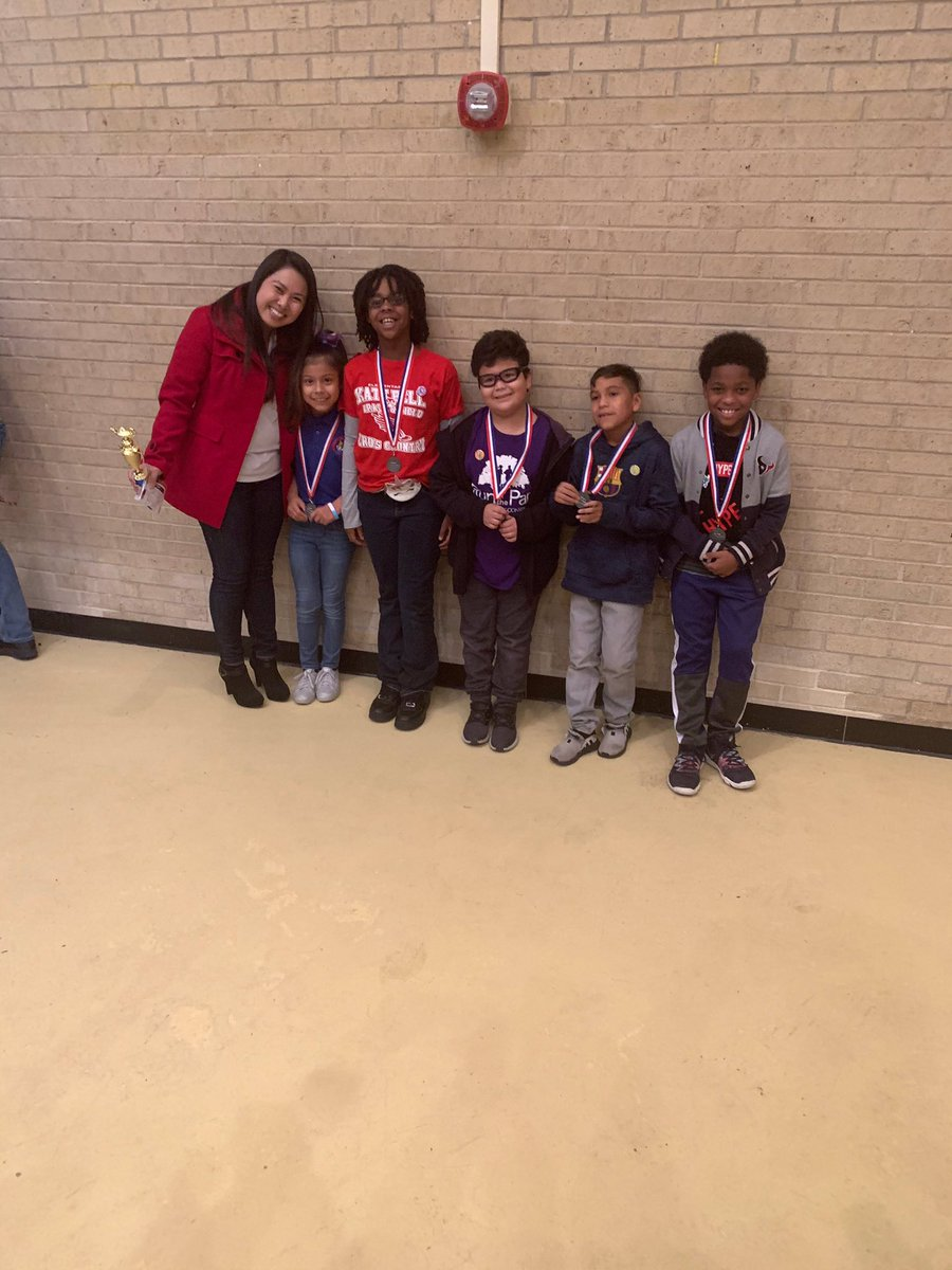 CONGRATULATIONS!!! Our 3rd grade students placed 2nd at the ERC Math Competition! Thank you Coach Tran for leading the team. #WeCompete #mathscholars #PEMagnet #wholechild<br>http://pic.twitter.com/nBraVdJuTt