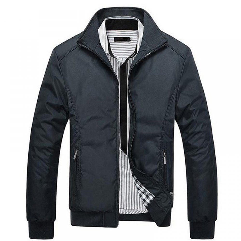 Mens Casual Slim Jacket #fathersday