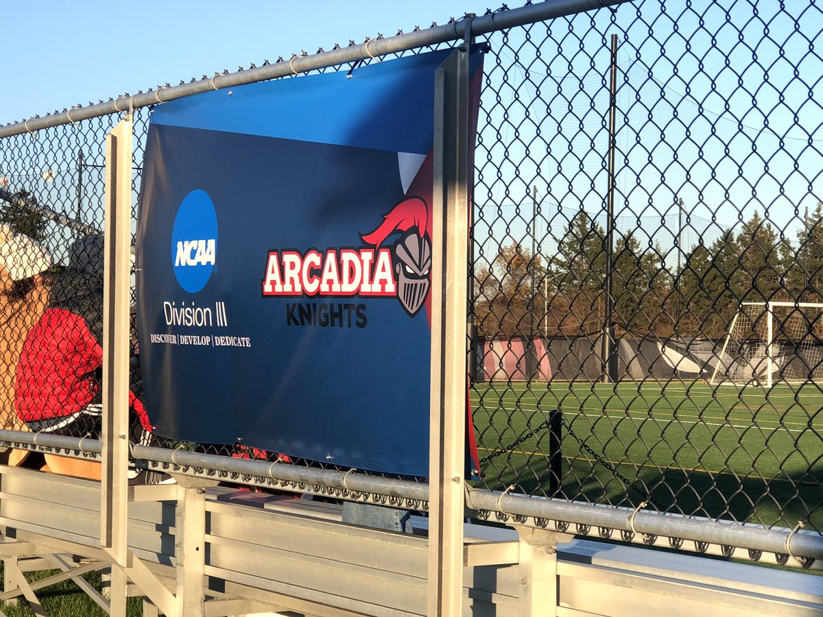 @arcadia_msoc was strong today in the cold weather defeating Wesley College in the ECAC  post-season tourney. Congrats! @arcadia_knights @arcadiauniversity https://t.co/IQrO7hOHTw