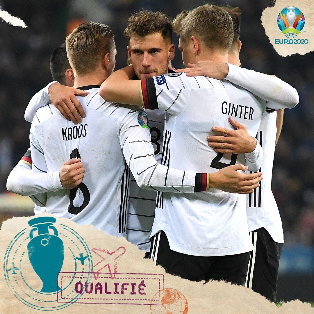 L'Allemagne qualifiée pour l