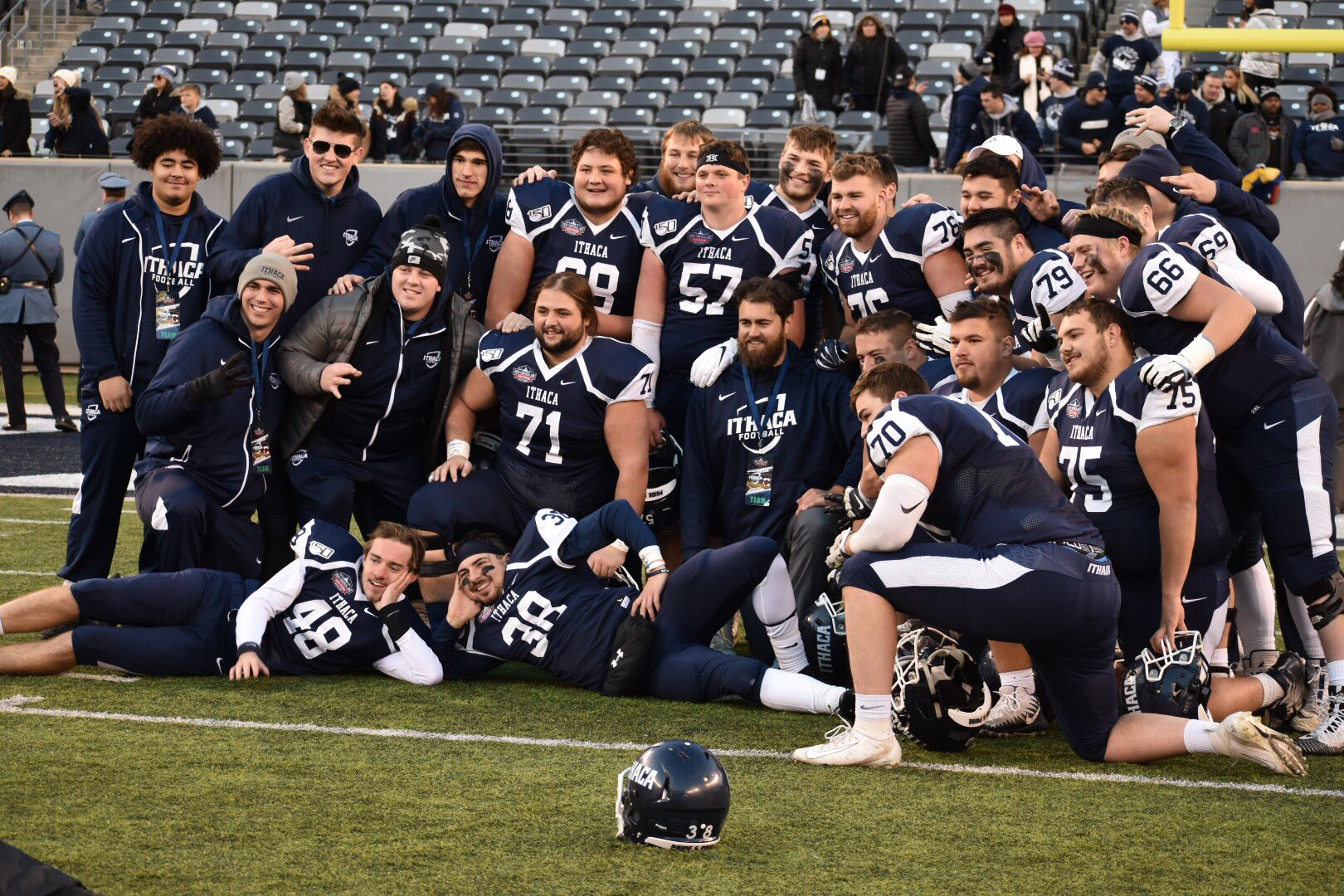 Ithaca brings home third consecutive Cortaca Jug with win at MetLife Stadium