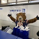Image for the Tweet beginning: Thanks to @united and @TheRealStaley