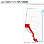 Image for the Tweet beginning: EC Wind Warning in effect