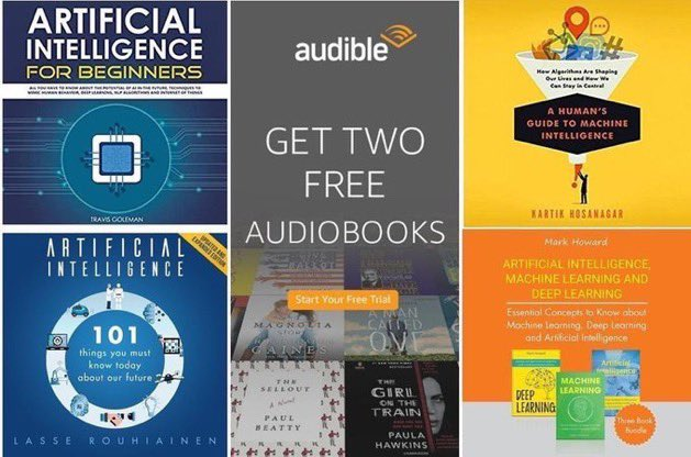 test Twitter Media - Explore 200+ audiobooks on #AI and #MachineLearning ➕get 2 FREE: https://t.co/QxyADPzHsP ————— #BigData #DataScience #DeepLearning #Analytics #DataScientists #Algorithms #DataLiteracy #PredictiveAnalytics  ———— ...including 3 #Python #Coding books in one: https://t.co/sbShw5QDJW https://t.co/9AFA2goBFa