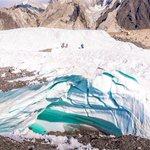 Image for the Tweet beginning: Trekking to K2 base camp