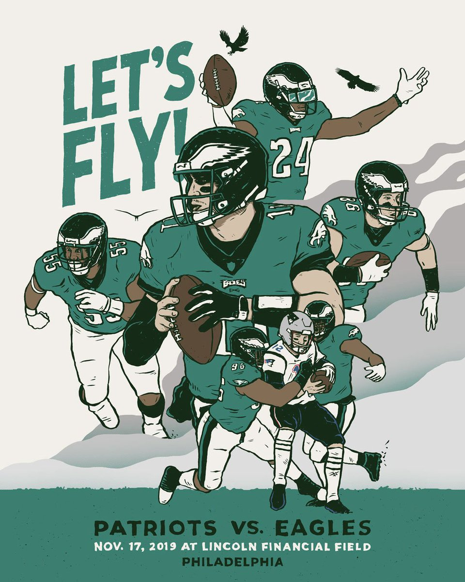 GAMEDAY  #NEvsPHI | #FlyEaglesFly   : @brunofsky<br>http://pic.twitter.com/eaoXdyFWhE