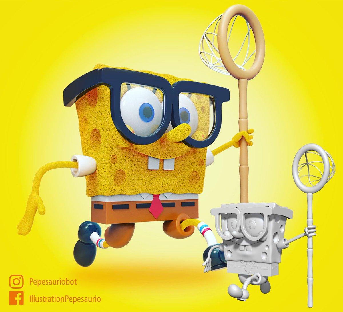 Bob!  Repost cuz obviously XD Part 2 :p  #characterdesigner  #conceptart  #illustration  #2D  #3D  #games  #zbrush  #gameartwork  #ZBrush  #3D  #Toon  #Cartoon  #characters  #studio  #ZBrushModel  #Sculpture  #Render  #app  #Gamer  #design  #3DGeneralist  #spongebob  #spongebobsquarepants  #nickelodeon
