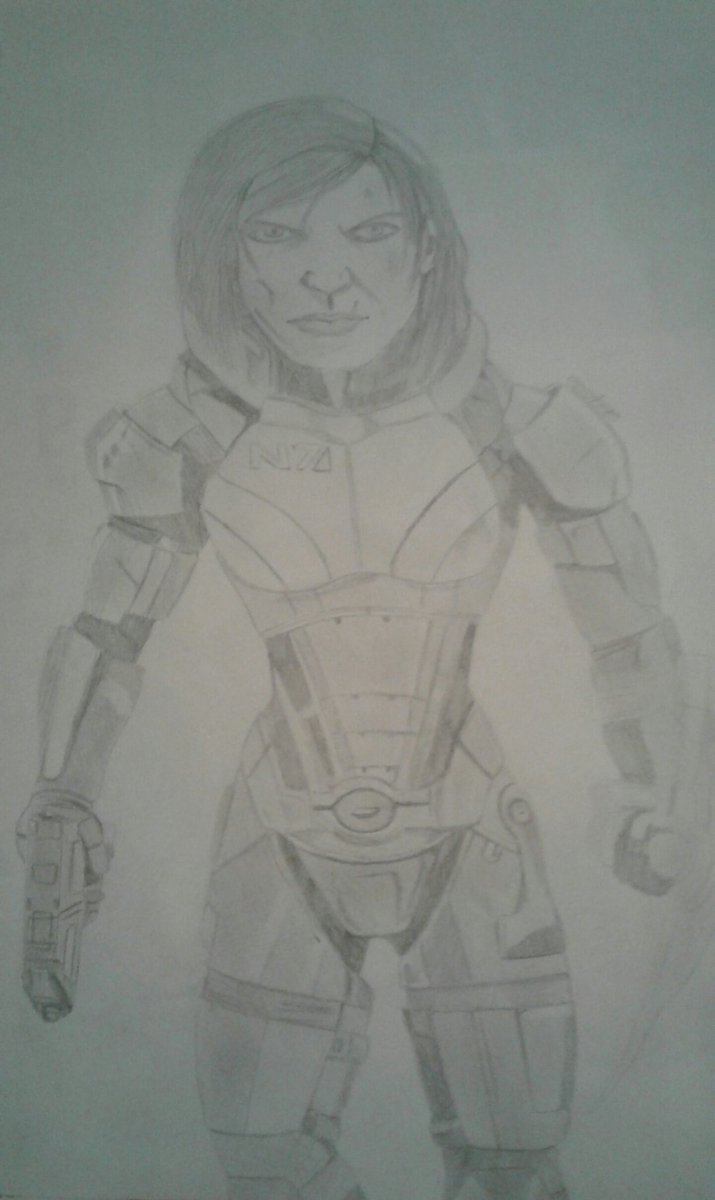 Forgot to tweet this for #N7Day This took me all day :)