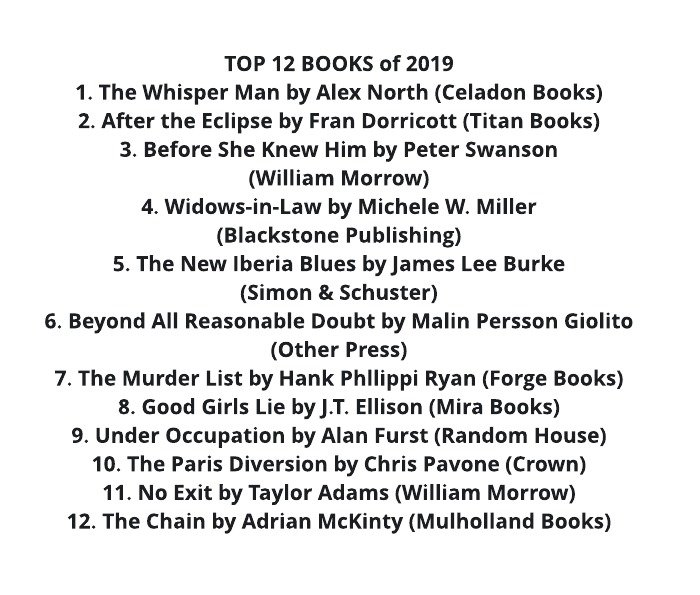 Blown away—such great news for Good Girls Lie! What a list of books to be held up with. Thanks, @StrandMag !!!