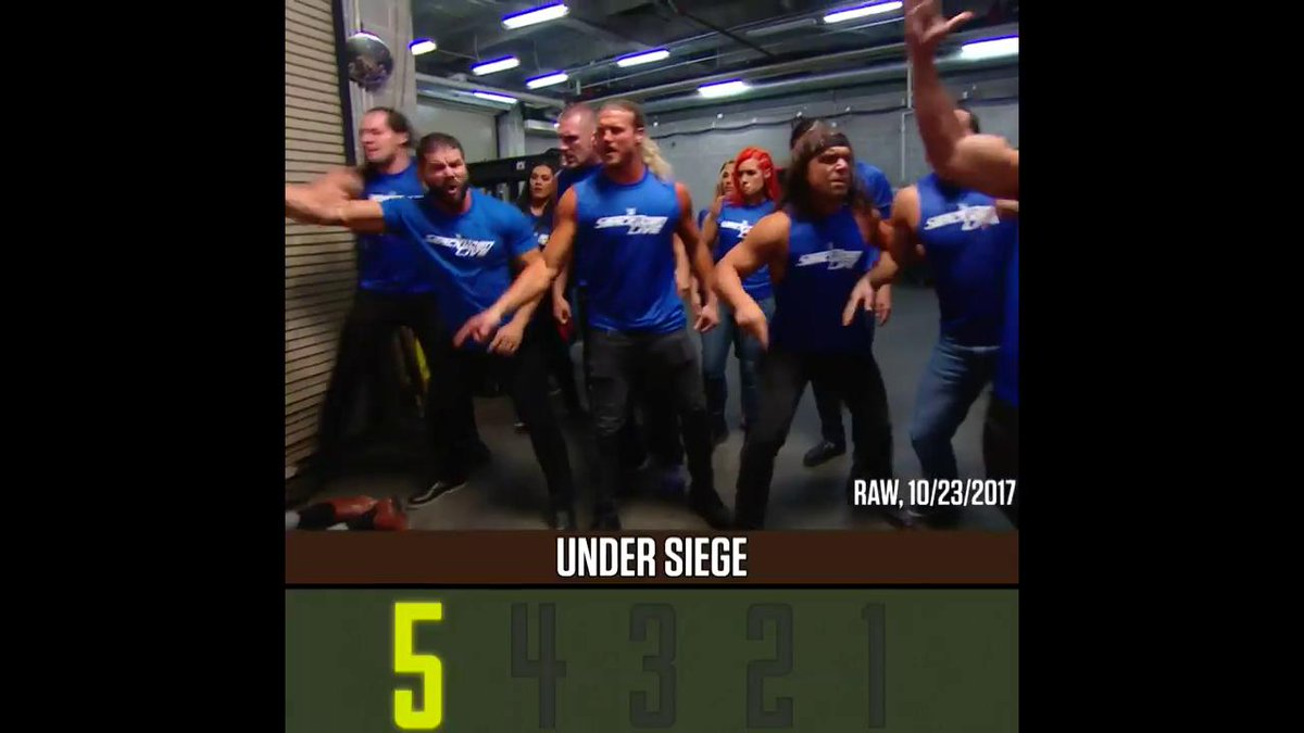 Ready or not, here THEY come. #UnderSiege #TheManComesAround