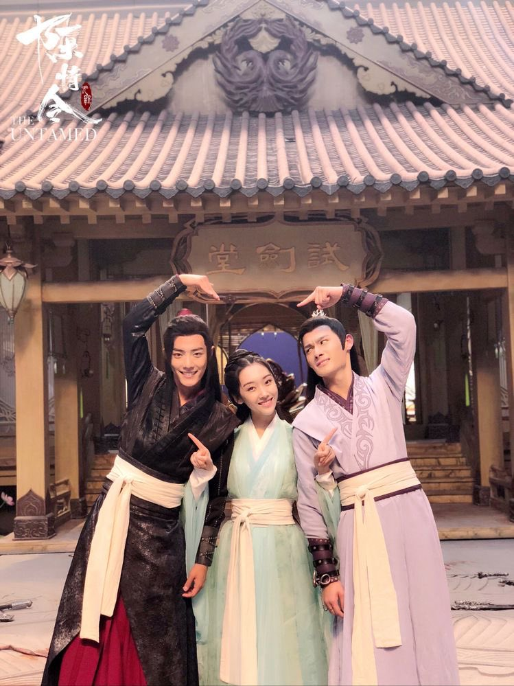 the Yunmeng Trio, forever healthy and happy and a l i v e in my heart  #TheUntamed #MDZS #XiaoZhan #WangZhouCheng #肖战 #汪卓成 #XuanLu #陈情令<br>http://pic.twitter.com/VTZS9vpMK3