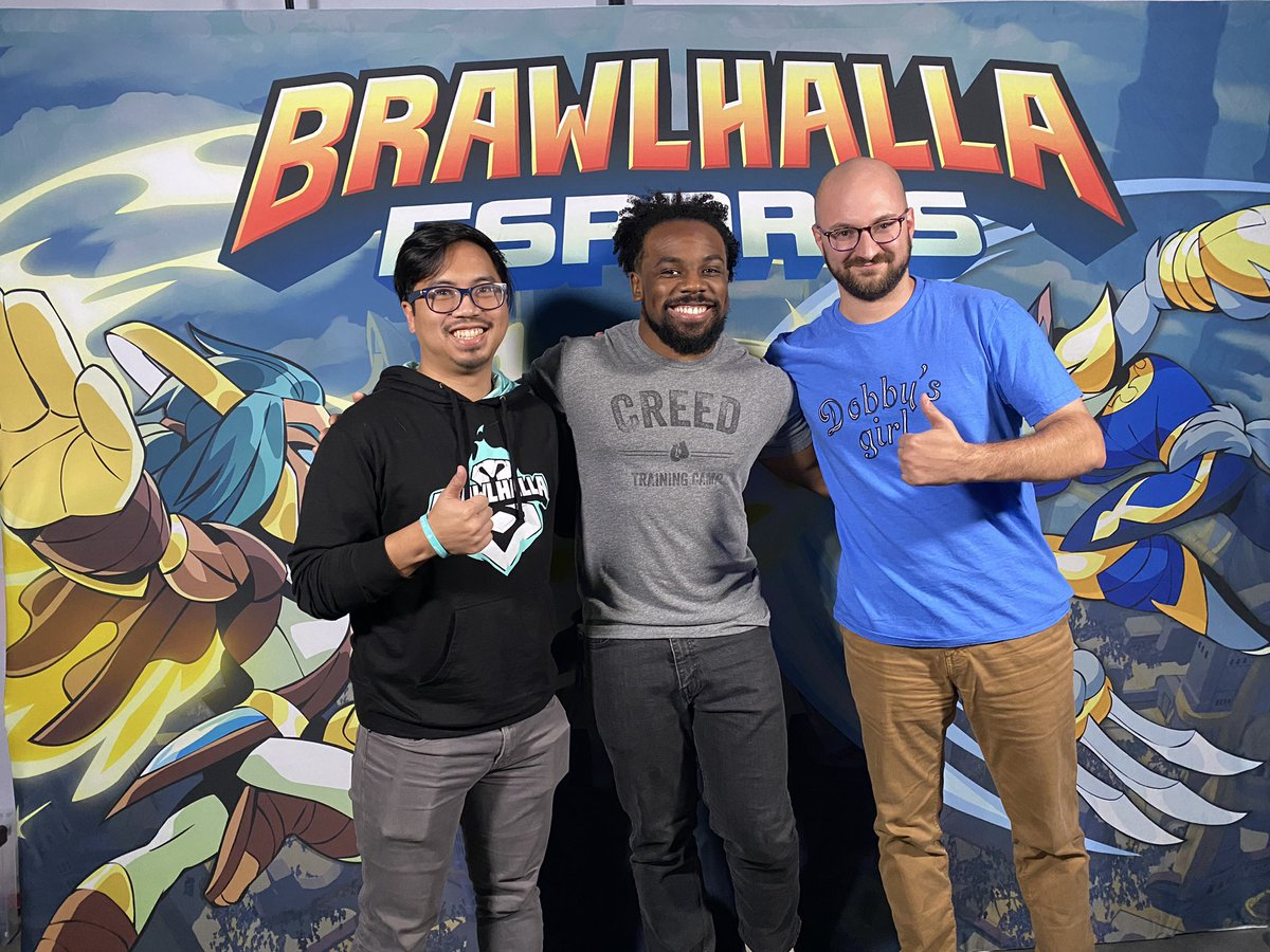 Come watch @Brawlhalla - I'm gonna be on the stream freaking out about everythinghttps://www.twitch.tv/brawlhalla