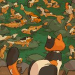 """Image for the Tweet beginning: 🐈 🐡 .  Check out """"Koi"""