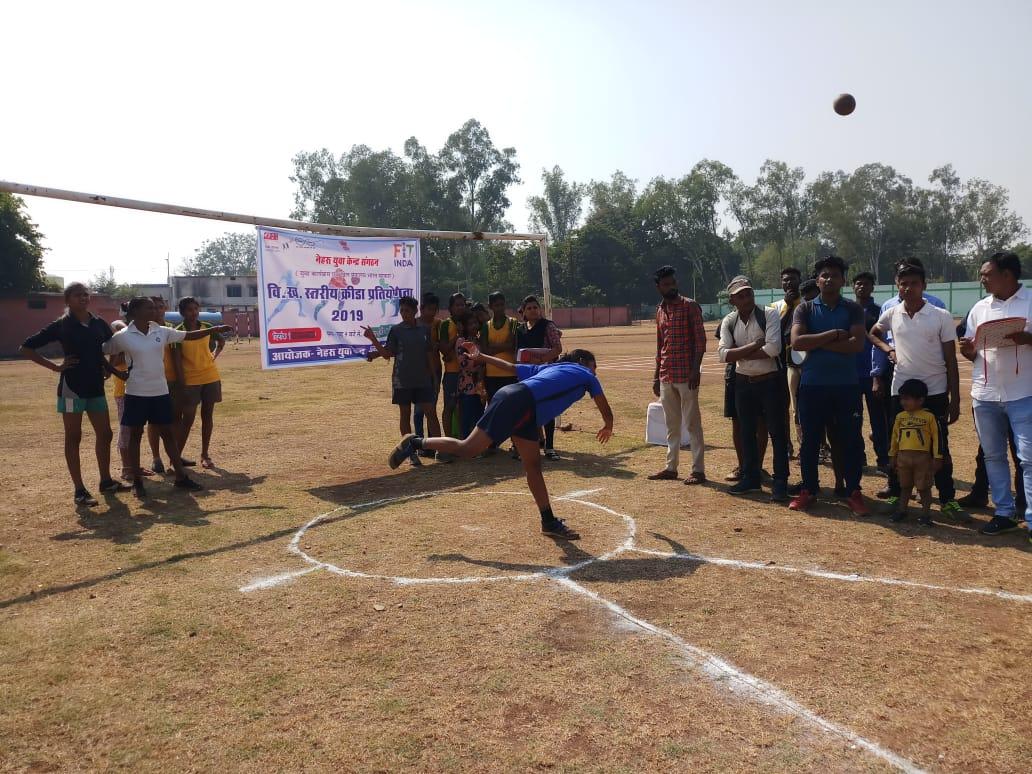 Block Level Sports meet organised by Nehru Yuva Kendra Kawardha on 15-16 November at outdoor stadium kawardha.@IndiaSports @RijijuOffice@Triloki68346055 @Nyksindia