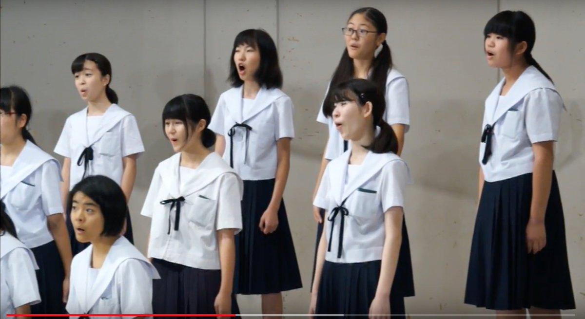 JC 芋 愛セラ御着用さセラれた女子中学生の合唱姿に萌える ...