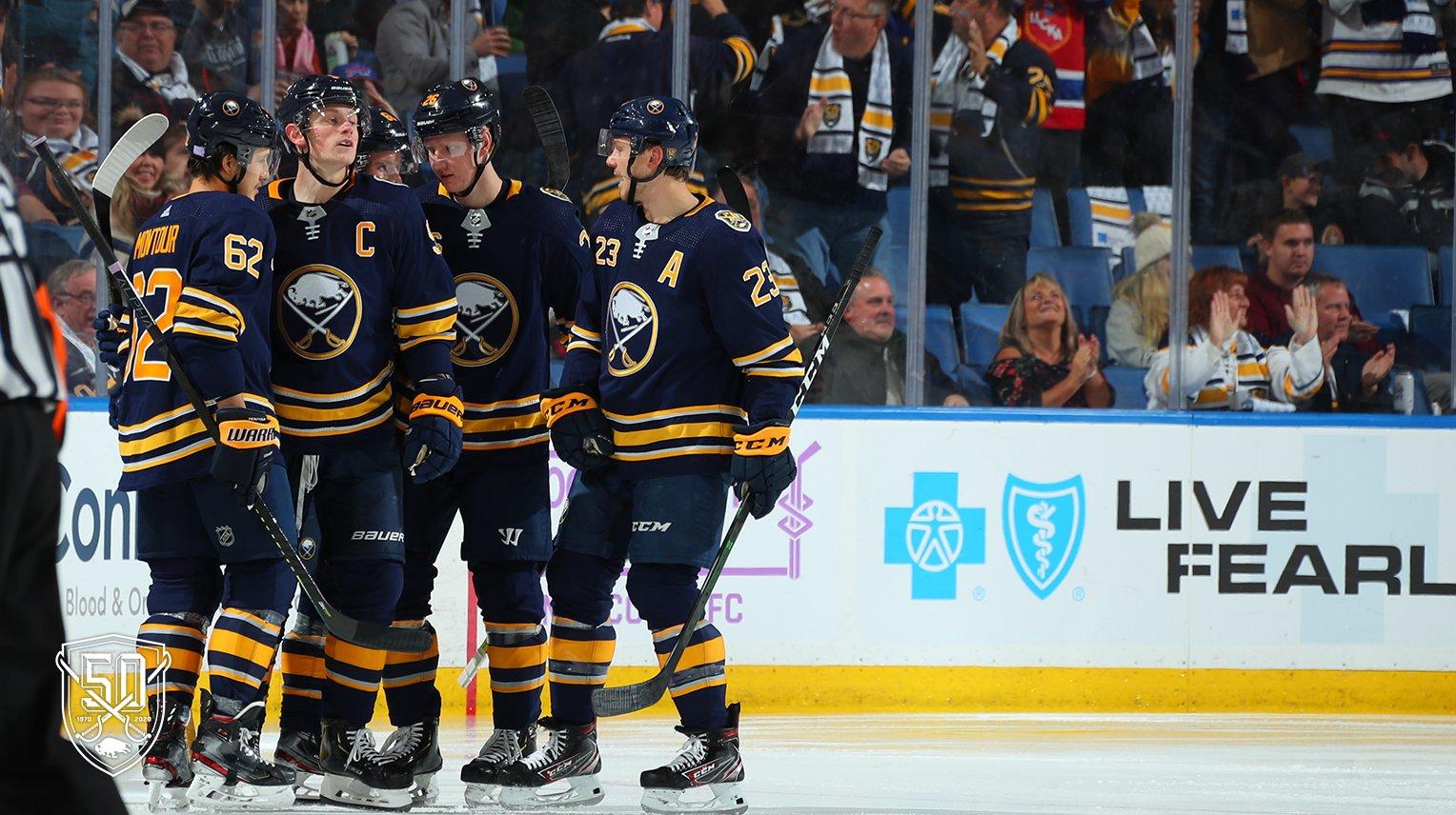 Jack Eichel scores four goals, Sabres defeat Senators, 4-2