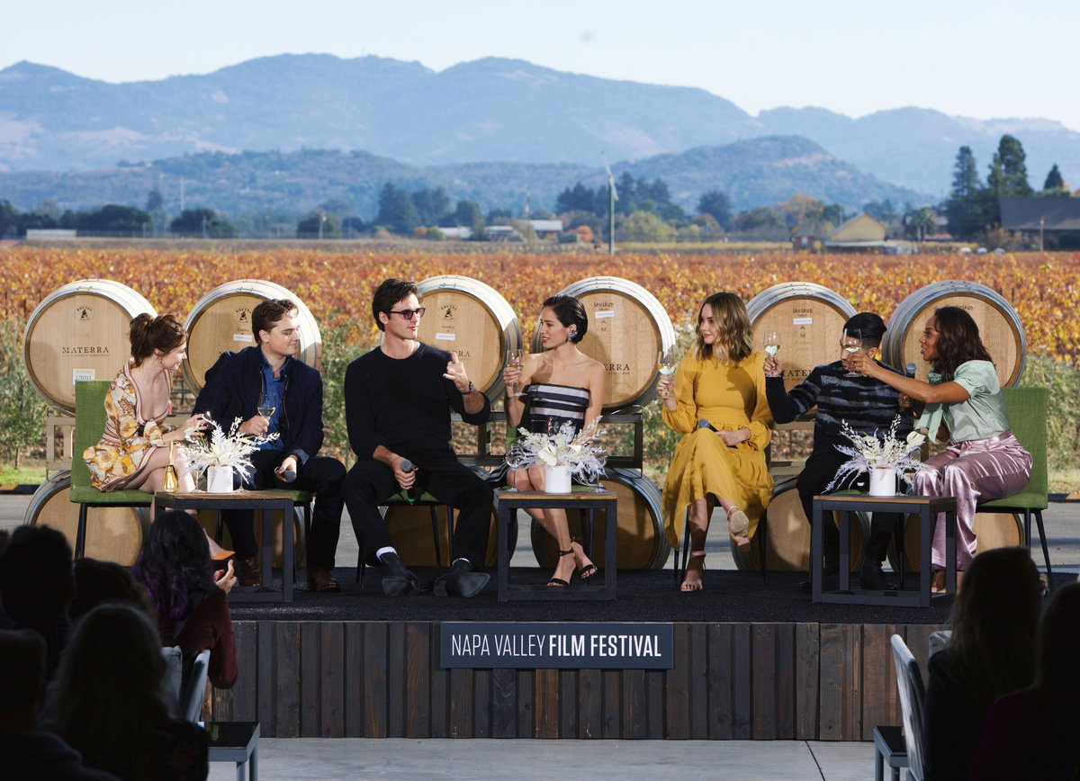 Congratulations to this years @materrawines #RisingStars: #JessicaBarden, @Dean_C_Chapman, #JacobElordi, #KelseyAsbille, @LianaLiberato, and @MenaMassoud. 🌟