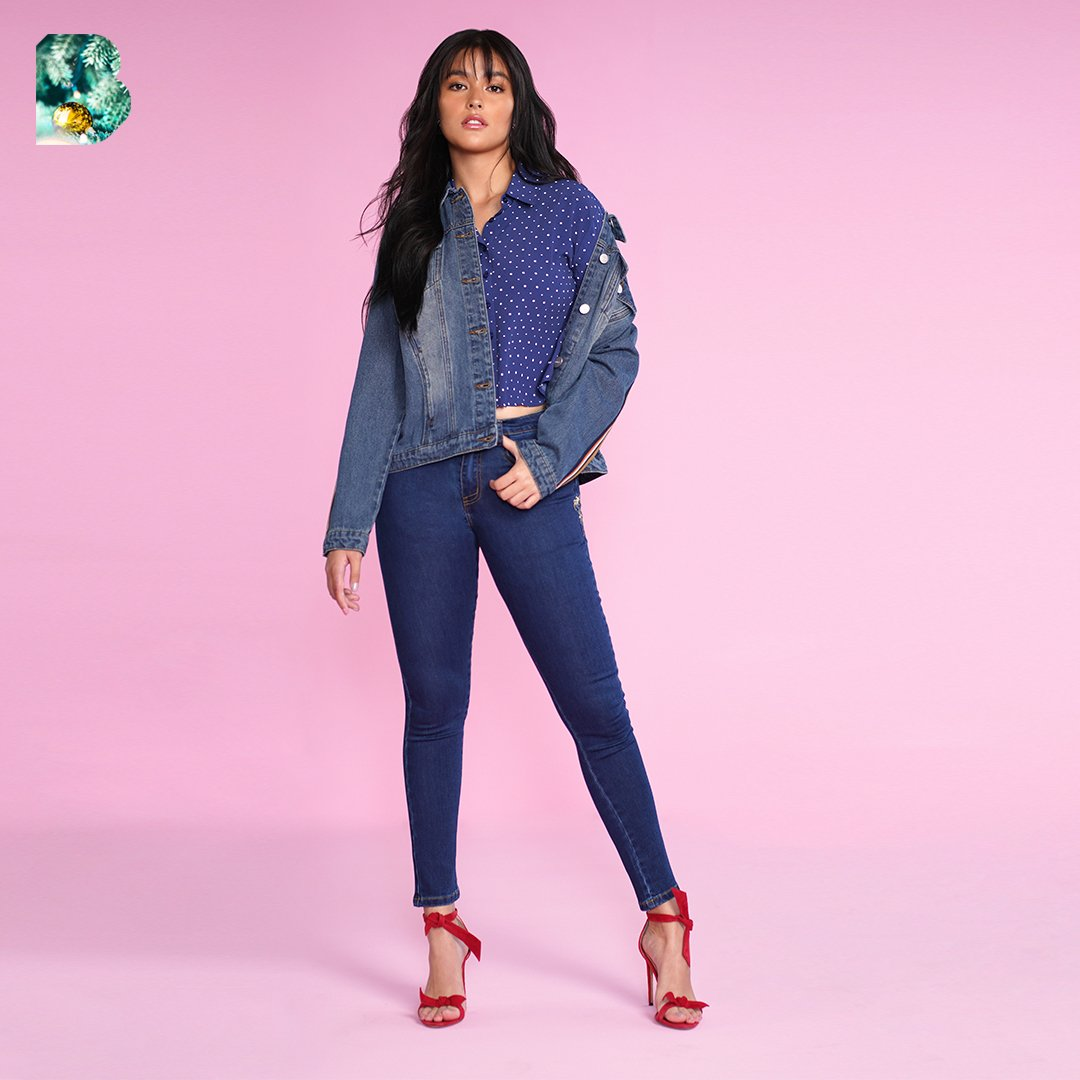 Denim — for today, tomorrow, and always 💗 @lizasoberano #BENCHHoliday2019 #WithLove