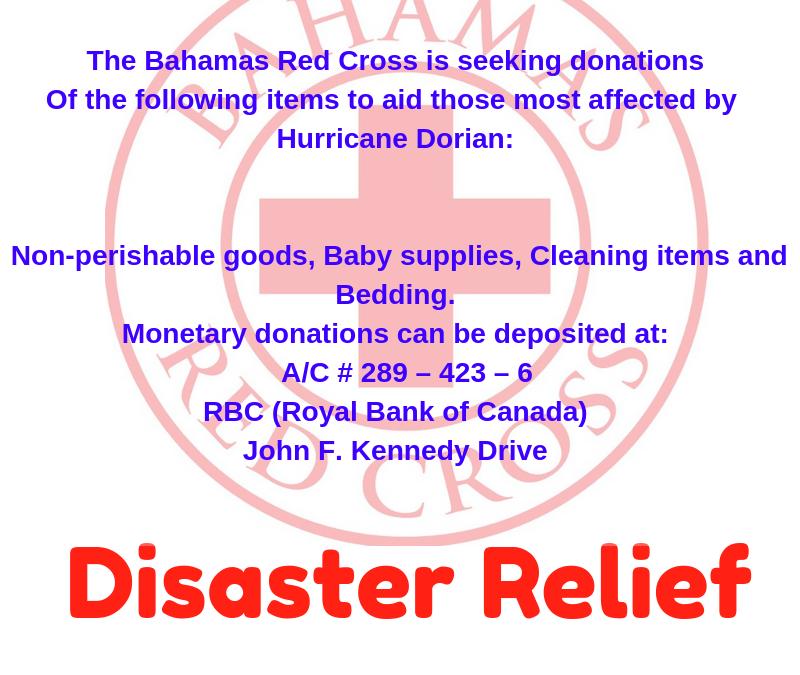 #HurricaneDorain #2019 = Devastation Destruction Fear Tears >>>>HomesDestroyed BusinessesGone FamiliesDisplaced NeedIsGreat>>>#PleaseConsiderAssistance >>>Thots Prayers Financial ...#HelpUsHelp  https://www.redcross.org/donate/hurricane-dorian-donations.html/…  https://bahamasredcross.org/bahamas-red-cross-society-hurricane-dorian-assitance-helpushelp…