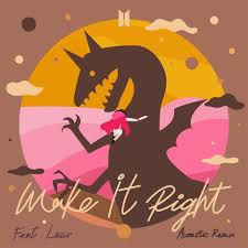 It was beautiful Saturday and I know one beautiful song for tonight. Please play #MakeItRightAcoustic by @BTS_twt ft. Lauv. @MostRequestLive #MostRequestedLive