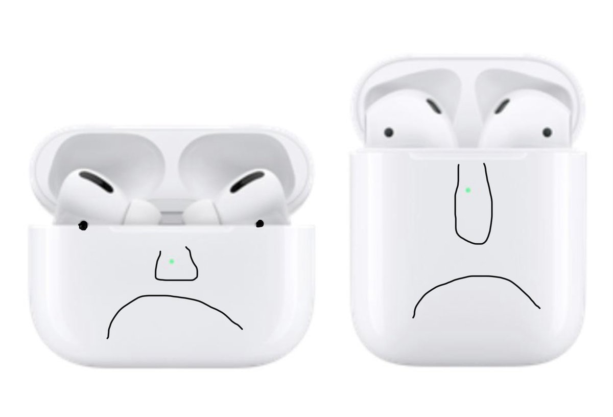 My airpods make terrifying sounds
