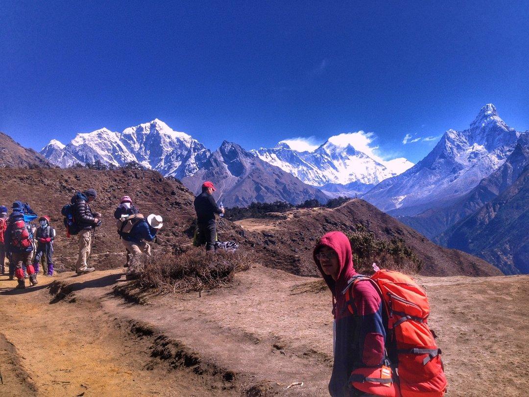 Everest trek with students. . http://frolicadventure.com/everest-base-camp-trek… . #everestbasecamp #everestbasecamptrek #student #studenttour #everest #trekking #visiting #visitnepal2020 #nepalnow #nepal8thwonder #nepalisbeautiful #gokyo #gokyolake #himalaya #mountains #trekkinginnepal #ebctrek