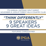 Image for the Tweet beginning: The 7th Annual Gateway Golf
