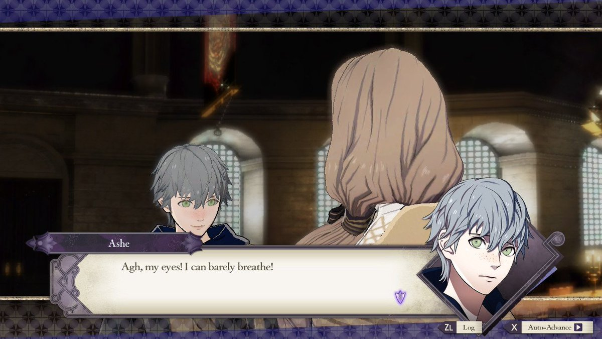 #FireEmblem #ThreeHouses  #NintendoSwitchI was not aware this man could breathe through his eyes,