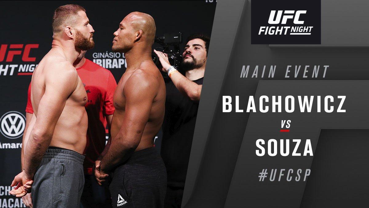 LHW main event up next!  #UFCSP