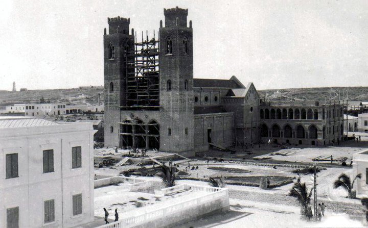 Mogadishu, #Somalia, under construction, during and after.1930s to 1960s.