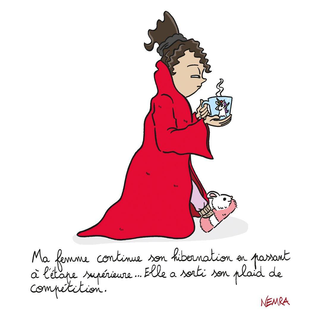 Passion hibernation . . #bd #bandedessinee #bandedessinée #comics #comicsbook #dessin #drawing #dessindujour #draw #drawingofday #art #cartoon #manga #blogbd #bdTwitter #funny #smile #illustration #family #wife #hibernation #piloupilou #plaid #mug #licorne #dabs #sophianenemrapic.twitter.com/BuVoQjgJ5k