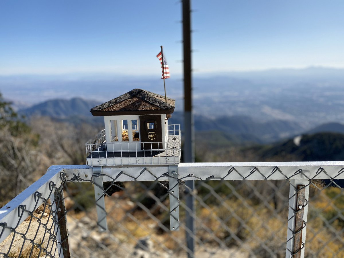 At the top of Strawberry Peak Fire Lookout Station near Lake Arrowhead.  A hike with some dear friends was part of my #SelfCareSaturday #proudtobeLBUSD