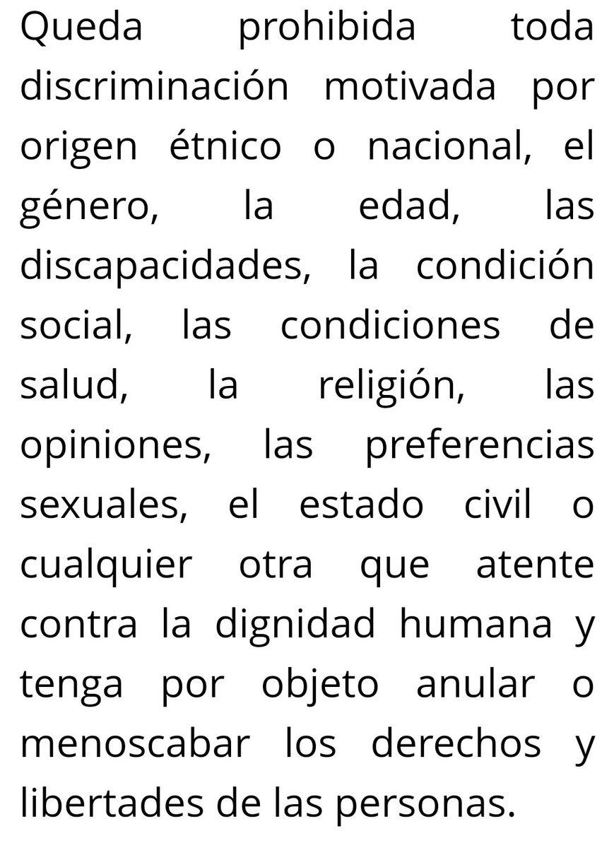 ¿Habrá un pronunciamiento de la  @CNDH y de @RosarioPiedraIb respecto al acto de discriminación que realizó @lopezobrador_ y que es violatorio del artículo 1 de la Constitución Política de los Estados Unidos Mexicanos? #LópezRacista https://t.co/kPgg67nylp