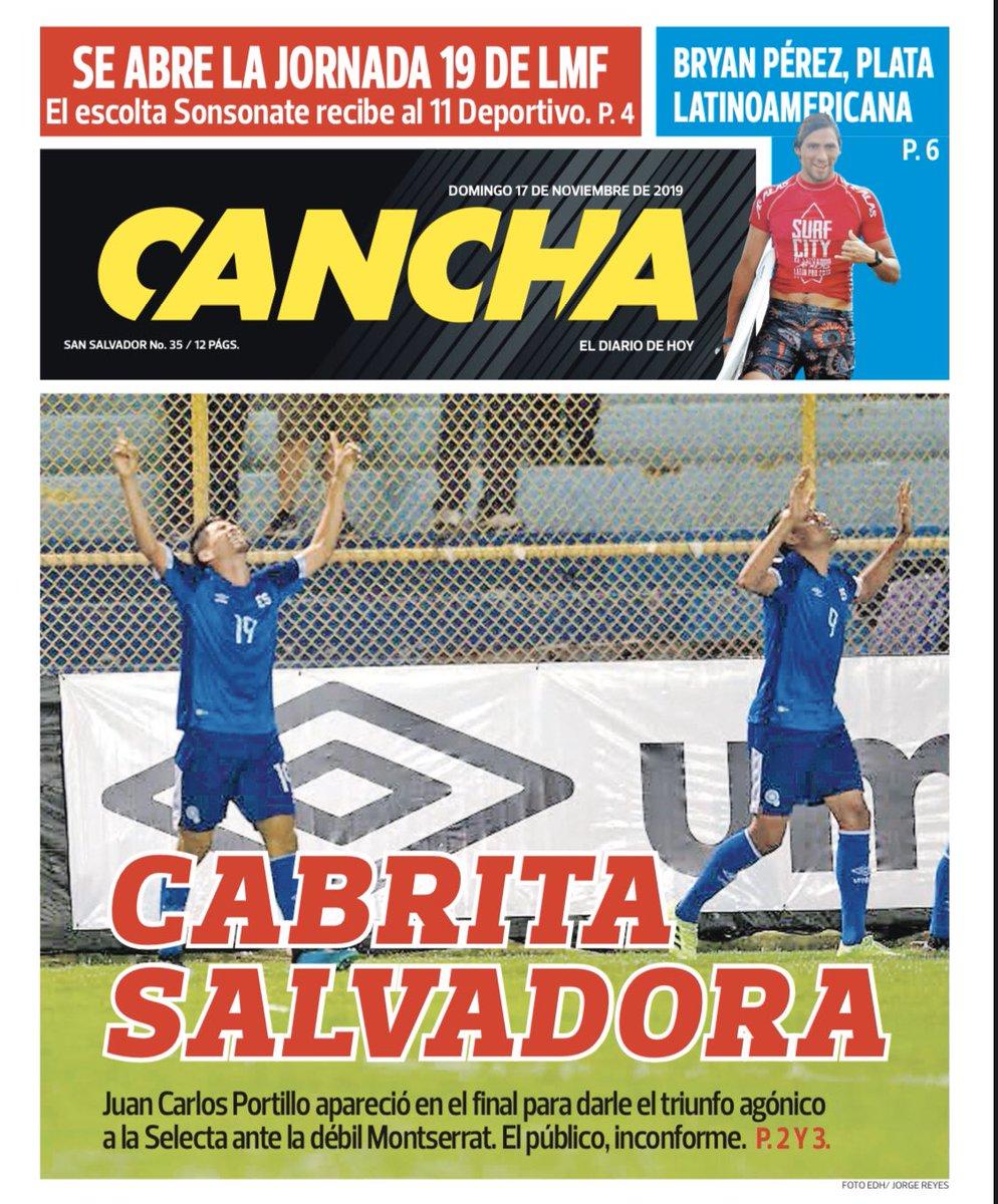 Liga de Naciones CONCACAF 2019: El Salvador 1 Montserrat 0. EJjXcZpX0AA22AJ?format=jpg&name=medium