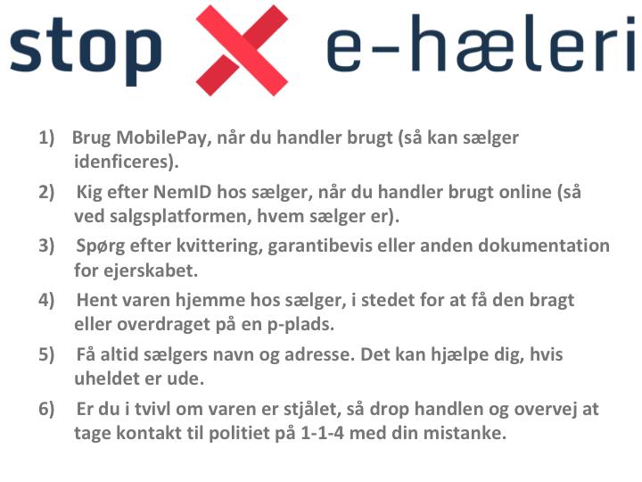 På Borgermødet i Alsion opl. tidl. indbrudstyv, at han solgte tyvekoster på FB, leverede til køberne og lagde mærke til, hvad hælerne (køberne) havde, som var værd at stjæle. Ugen efter havde hælerne indbrud, hvor tyven igen stjal tyvekosterne og andet! #stopehæleri #politidk https://t.co/PaFXQMd47m