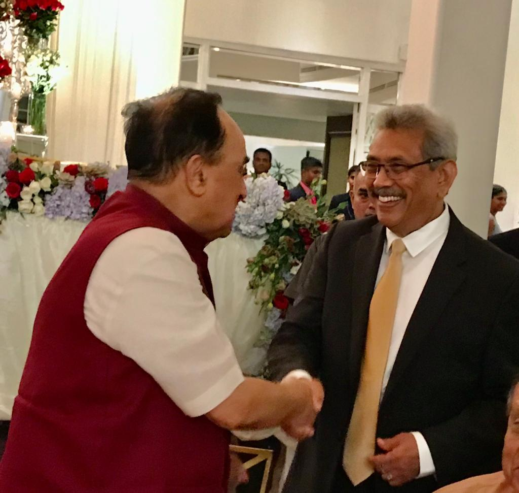 Congratulations @GotabayaR For Great Win #SrilankaPresidentElection2019@PresRajapaksa @RajapaksaNamal@jagdishshetty @Swamy39 #SriLankaElection2019